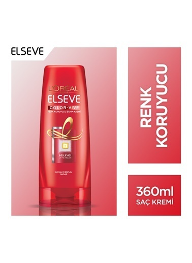 L'Oréal Paris Elseve Colorvive Renk Koruyucu Bakım Kremi 360 Ml Renkli